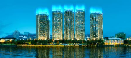 中华广场夜景